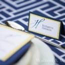 130x130 sq 1428354929565 navy blue and yellow place cards