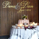 130x130 sq 1385682499946 gobo dana dan over cake table3edite
