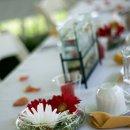 130x130 sq 1354571785025 receptiontablewithfishbowl