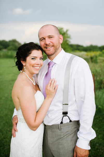 1449546779925 Rachel Nate Couple Outdoors St Paul wedding officiant