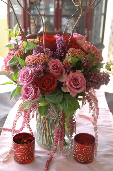 Floral Arrangements with Lanterns http://www.projectwedding.com/vendor/show/pink-lantern-floral-design