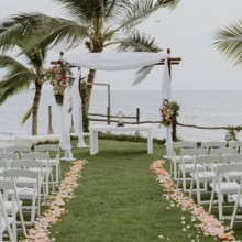 220x220 sq 1480811748680 ceremony garden aisle
