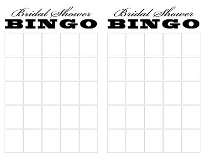 bridal shower BINGO | Weddings, | Wedding Forums | WeddingWire