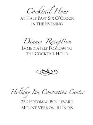 Reception Card Wording | Weddings, Planning, Etiquette and Advice | Wedding Forums | WeddingWire
