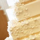 130x130 sq 1427985247371 white  gold wedding cake