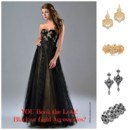 130x130 sq 1454614514860 prom with black or gold accessories