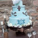 130x130 sq 1266006949458 postawaweddingcaketabledetail2009