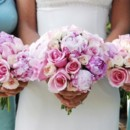 130x130 sq 1397577132368  18pink roses wedding bouqu