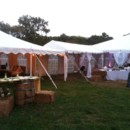 130x130 sq 1396446784378 frame tents with bar and hay bale