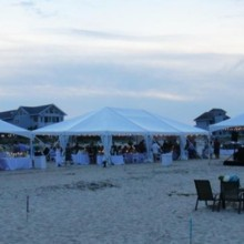 220x220 sq 1396381510907 3 tents beach weddin