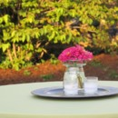 130x130 sq 1446562556896 pink gerber centerpiece outdoor
