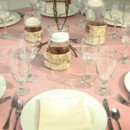 130x130 sq 1446564063670 pink cream table setting 2 paine shoot