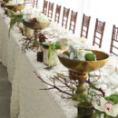 130x130 sq 1446566594307 gold ivory tablescape 1