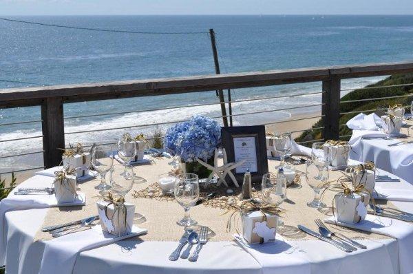 1311711480403 White.BurlapBeachWeddingtheme Newport Coast wedding venue