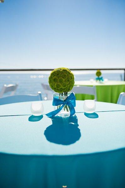 1322698647198 Cocktailtableblueandlime Newport Coast wedding venue