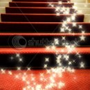 130x130 sq 1271876670700 stockphotostairscoveredwithredcarpet19841455