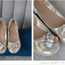 130x130 sq 1404867741016 jeweled flats wedding shoes gold