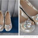 130x130 sq 1404867741016 jeweled flats wedding shoes gold
