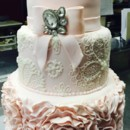 130x130 sq 1432063446531 bridal shower cake