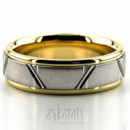 130x130 sq 1366656565166 two tone wedding band 5