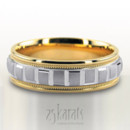 130x130 sq 1366656639843 two tone wedding bands