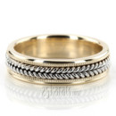 130x130 sq 1366657552660 hand braided milgrain wedding band