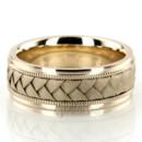 130x130 sq 1366657615249 hc100105 classic milgrain hand braided wedding band