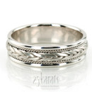 130x130 sq 1366657792689 hm003 braided sleek hand woven wedding band