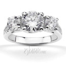 130x130 sq 1366660917383 trellis three stone diamond accent engagement ring