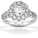 130x130 sq 1382624436046 fancy halo engagement ring