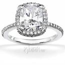 130x130 sq 1382624456746 brilliant diamond radiant halo engagement ring