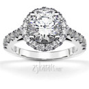 130x130 sq 1382624459615 designer inspired halo engagement ring with diamonds