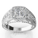 130x130_sq_1384959840914-antique-engraved-diamond-engagement-ring-ri