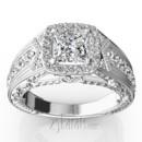 130x130 sq 1384959840914 antique engraved diamond engagement ring ri