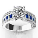 130x130 sq 1384959850872 sapphire and diamond engagement rin