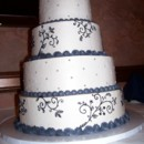 130x130 sq 1465568101817 lacy cake w dragees for rebecca 1