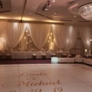 130x130 sq 1444400591485 white dance floor with monagram