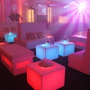 130x130 sq 1427469988679 tufted sofa glow double bench glow cocktail table