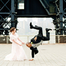 220x220 sq 1510340219122 break dancing groom wedding nyc