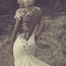 130x130 sq 1413914622432 julia kontogruni 2015 mermaid wedding dress illusi