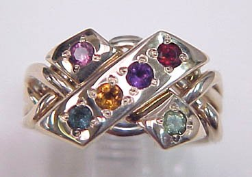 photo 4 of Puzzle Rings by Norman Greene
