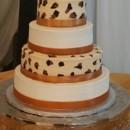 130x130 sq 1442800721811 leopard shoe cake