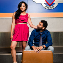 220x220 sq 1389127387119 austin airport engagement photo
