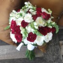 130x130 sq 1368821780049 redwhitebouquet