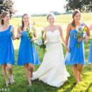 130x130 sq 1490893842081 wedding   bridesmaids in blue