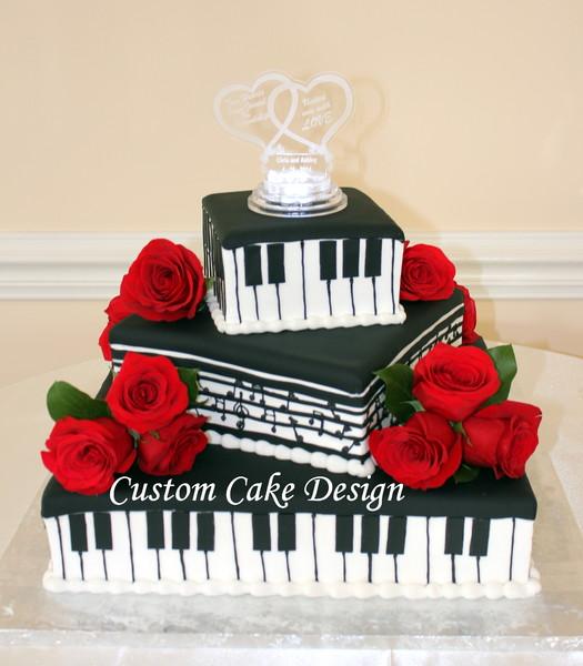 Weddingwire Custom Cake Design : Custom Cake Design - Gaithersburg, MD Wedding Cake