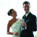 130x130 sq 1371660048043 bride and groom smiling during toast
