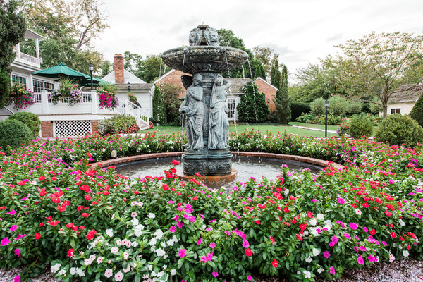 1457207422622 Fountain In The Formal Gardens Taneytown wedding venue