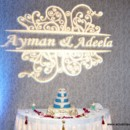 130x130 sq 1369322063516 cake table and gobo