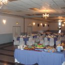 130x130 sq 1286658214505 periwinklewhitewithchaircovers